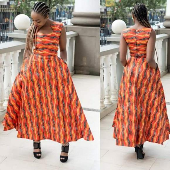Ankara Dresses & Skirts - SOLD.